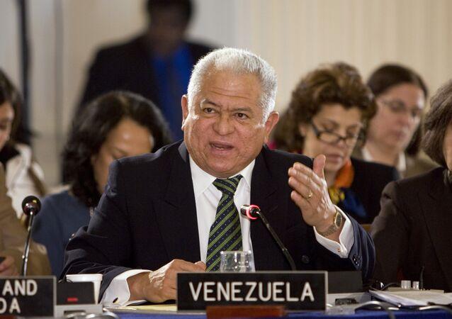 Jorge Valero, representante de Venezuela ante la ONU en Ginebra