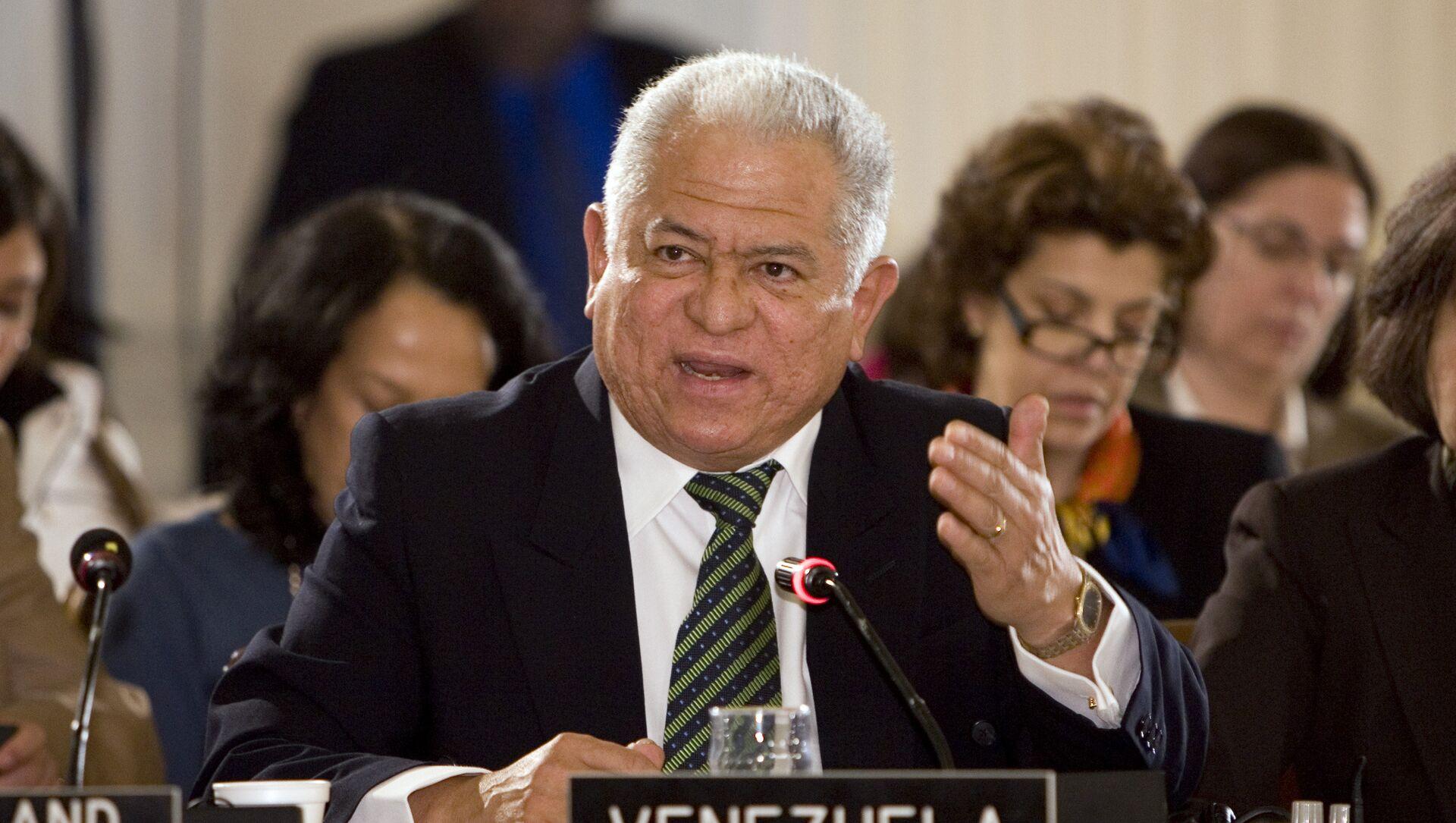 Jorge Valero, representante de Venezuela ante la ONU en Ginebra - Sputnik Mundo, 1920, 06.10.2020