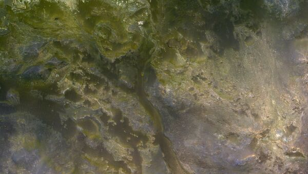 El cráter Eberswalde, en Marte - Sputnik Mundo