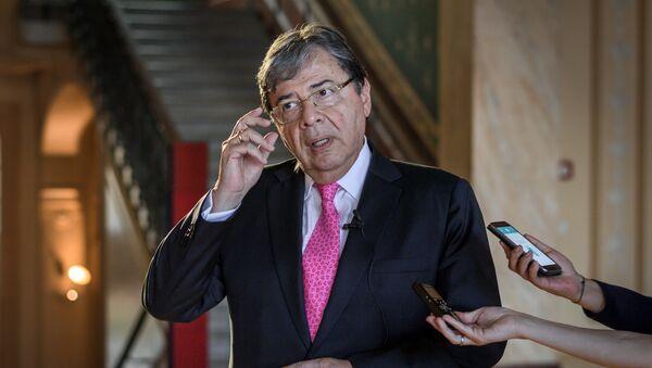 Carlos Holmes Trujillo, canciller de Colombia - Sputnik Mundo