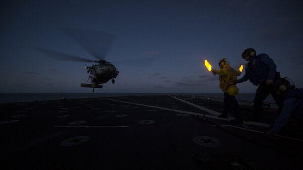 Un MH-60 Sea Hawk - Sputnik Mundo