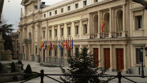 Fachada del Palacio del Senado de España - Sputnik Mundo