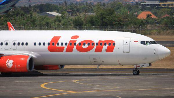 Un avión de la aerolínea indonesia Lion Air (archivo) - Sputnik Mundo