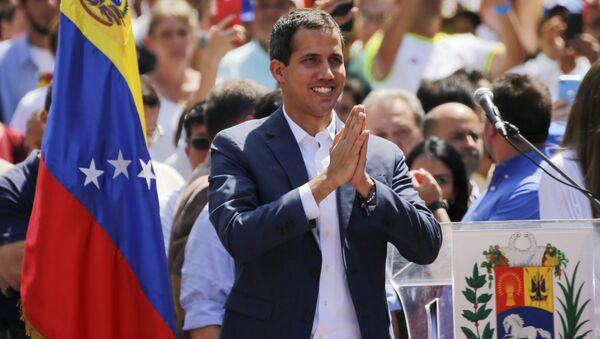 Juan Guaidó, líder de la oposición venezolana - Sputnik Mundo