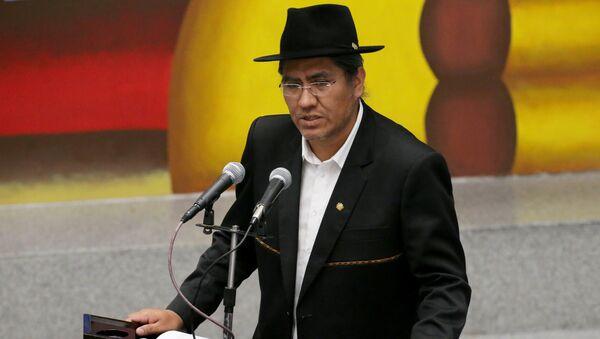 Diego Pary, el canciller de Bolivia - Sputnik Mundo