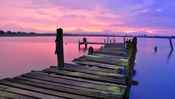 Lago rosa - Sputnik Mundo