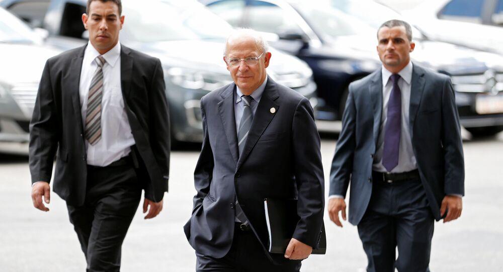 Augusto Santos Silva, ministro de Exteriores de Portugal, en Montevideo