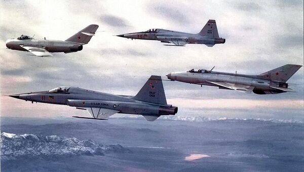 Aviones de la Escuadra de Evaluación Táctica 4477 - Sputnik Mundo
