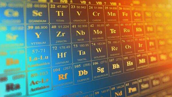 Tabla periódica de los elementos - Sputnik Mundo