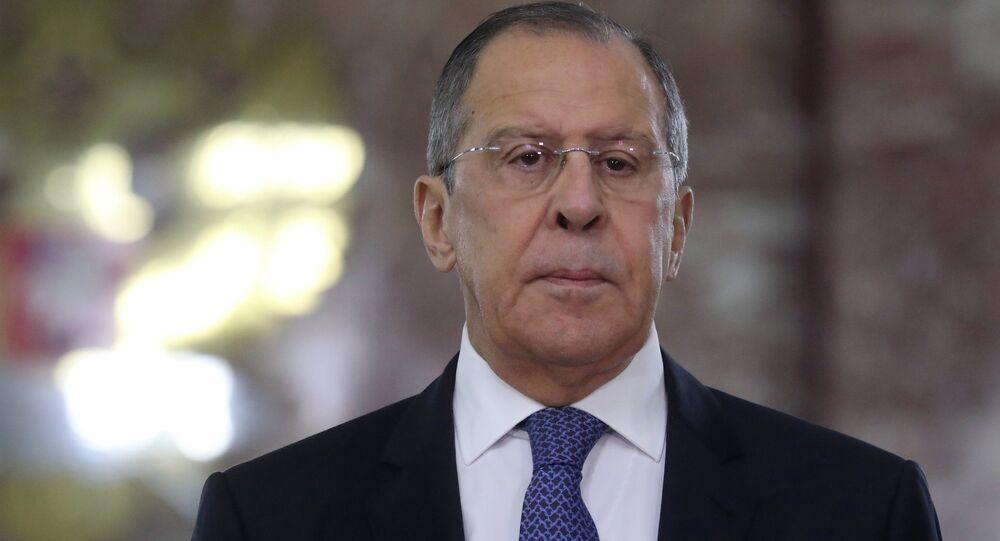 Serguéi Lavrov, ministro de Asuntos Exteriores de Rusia (archivo)