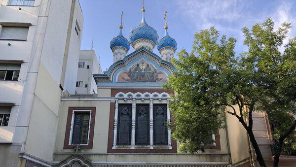 Iglesia Ortodoxa Rusa de Buenos Aires - Sputnik Mundo