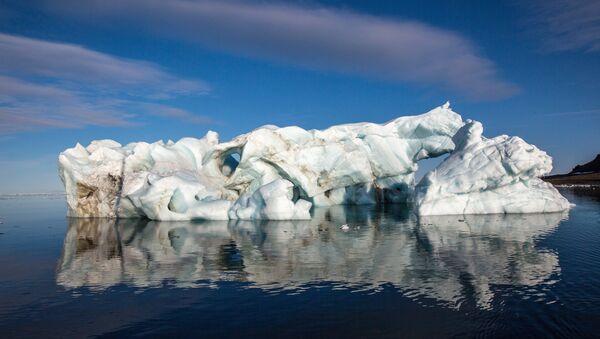 Hielo en Ártico - Sputnik Mundo