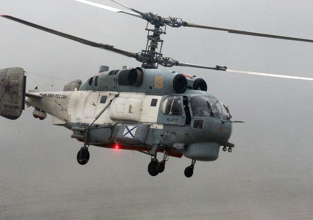 Helicóptero Ка-27 (archivo)