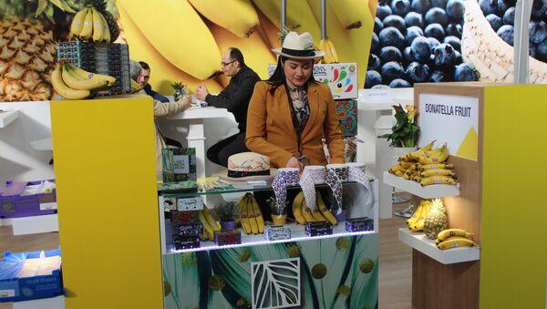 El banano, producto estrella de Ecuador - Sputnik Mundo
