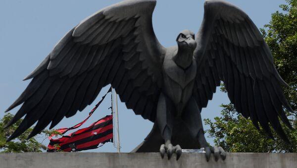 El incendio en el club de futbol Flamengo en Río de Janeiro, Brasil - Sputnik Mundo