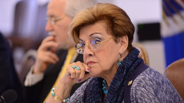 Esmeralda Arosemena de Troitiño, presidenta de la Comisión Interamericana de Derechos Humanos (CIDH) - Sputnik Mundo