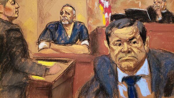 El juicio en una corte de Nueva York contra Joaquín 'el Chapo' Guzmán - Sputnik Mundo