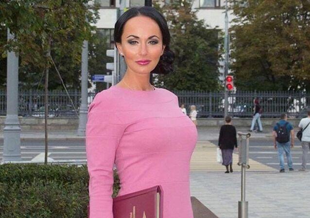 Irina Volk, la asistente del ministro del Interior de Rusia