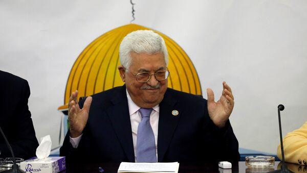 Mahmud Abás, el presidente de la Autoridad Nacional Palestina - Sputnik Mundo