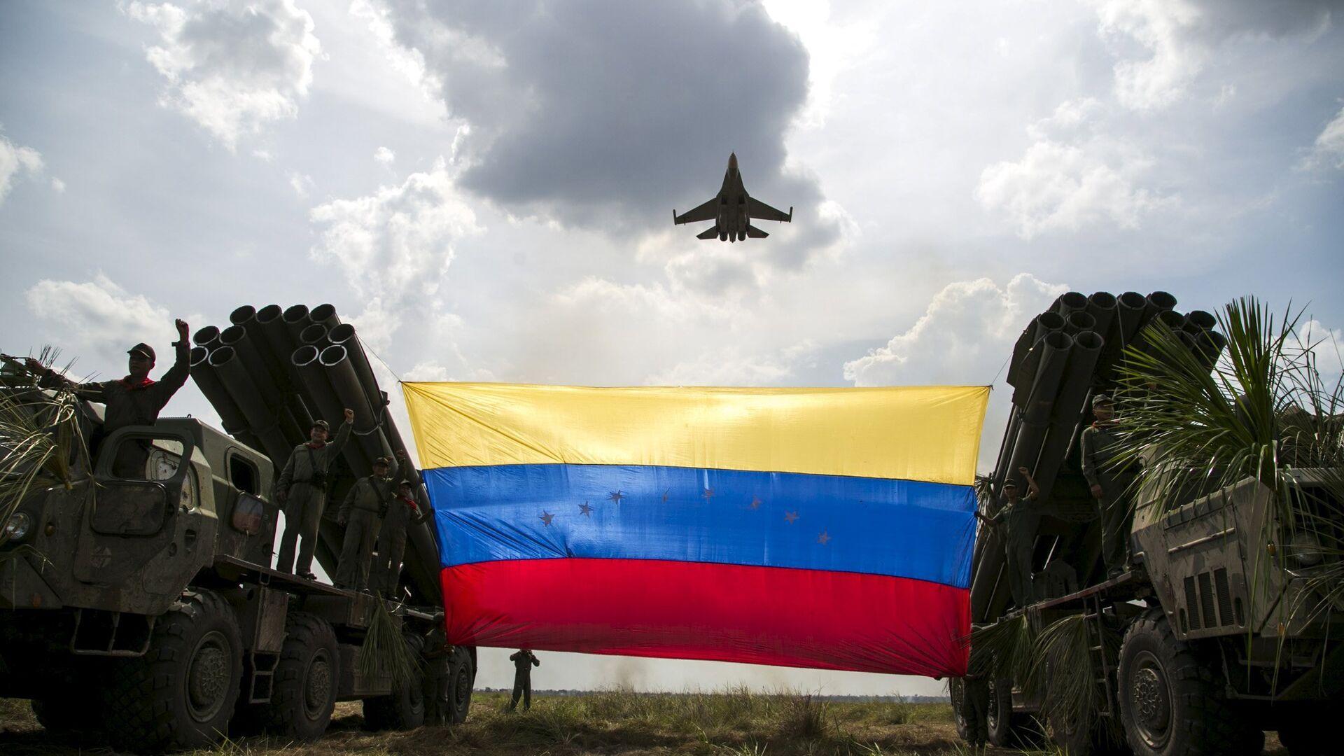 Militares de la Fuerza Armada Nacional Bolivariana de Venezuela - Sputnik Mundo, 1920, 22.02.2021