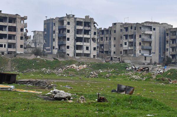 Cómo las regiones destruidas de Alepo vuelven a la vida pacífica - Sputnik Mundo