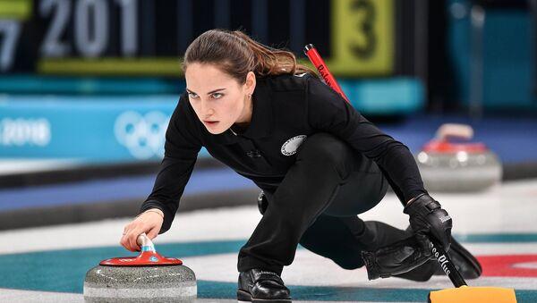 Anastasia Brizgálova, jugadora de curling rusa - Sputnik Mundo