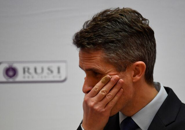 Gavin Williamson, secretario de Defensa de Reino Unido
