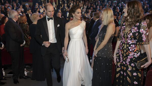 William y Kate en los premios BAFTA - Sputnik Mundo