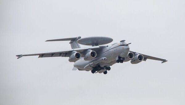 Avión ruso de alerta temprana A-100 - Sputnik Mundo