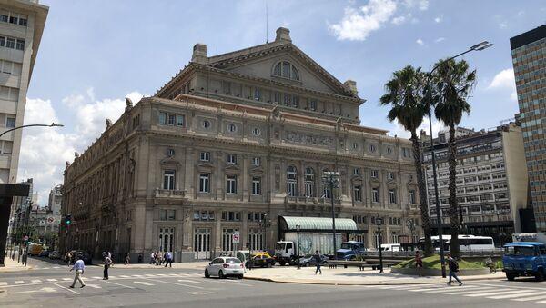Teatro Colón en Buenos Aires, Argentina - Sputnik Mundo