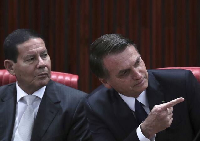 Jair Bolsonaro, Hamilton Mourao