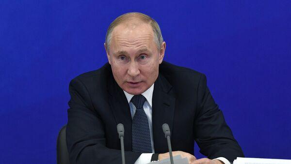 El presidente Vladímir Putin en Tartaristán - Sputnik Mundo