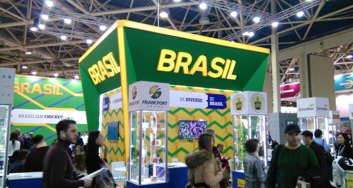 Estand de Brasil