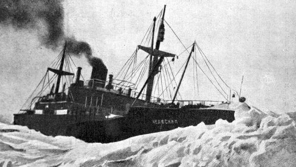 El buque Cheliuskin - Sputnik Mundo