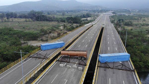 Puente entre Colombia y Venezuela - Sputnik Mundo
