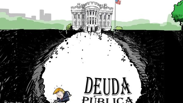 Así excava Trump su deuda pública bajo la Casa Blanca - Sputnik Mundo