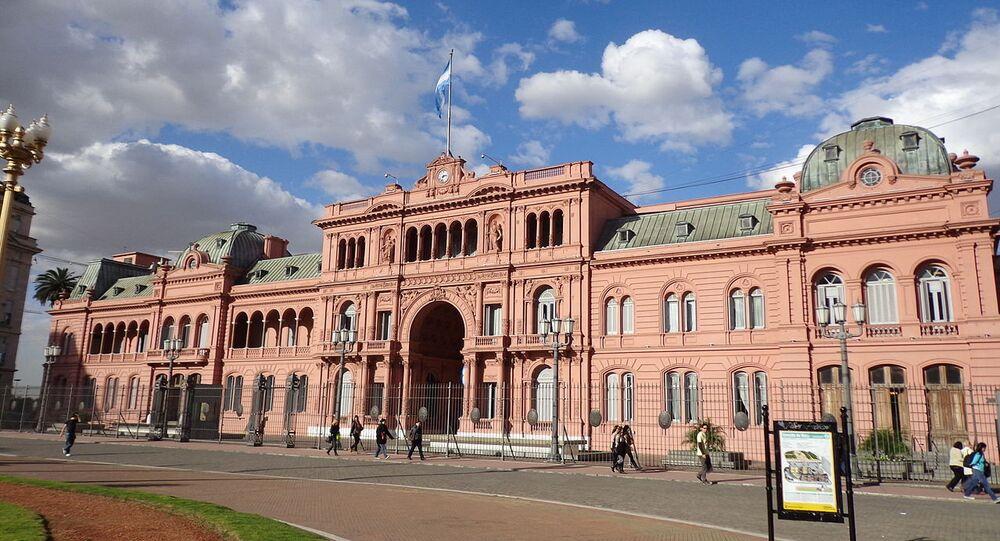 La Casa Rosada, la sede del Gobierno argentino