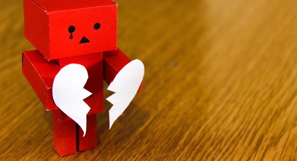Un corazón roto (imagen referencial)