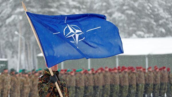Bandera de la OTAN (imagen referencial) - Sputnik Mundo