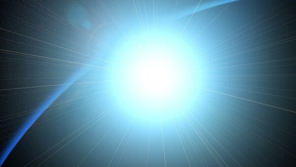 Un ráfaga de luz (imagen referencial) - Sputnik Mundo