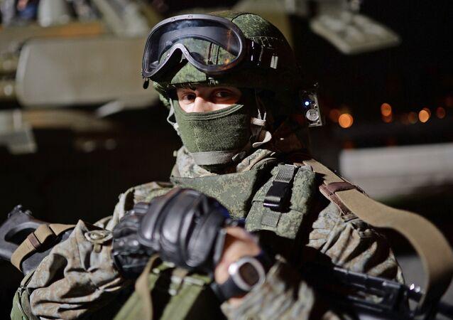Un militar ruso (archivo)