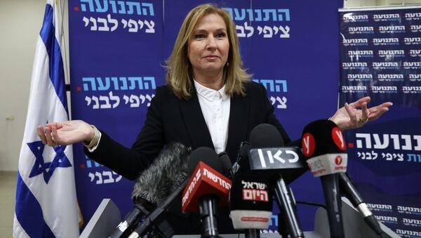 Tzipi Livni, la exministra israelí - Sputnik Mundo