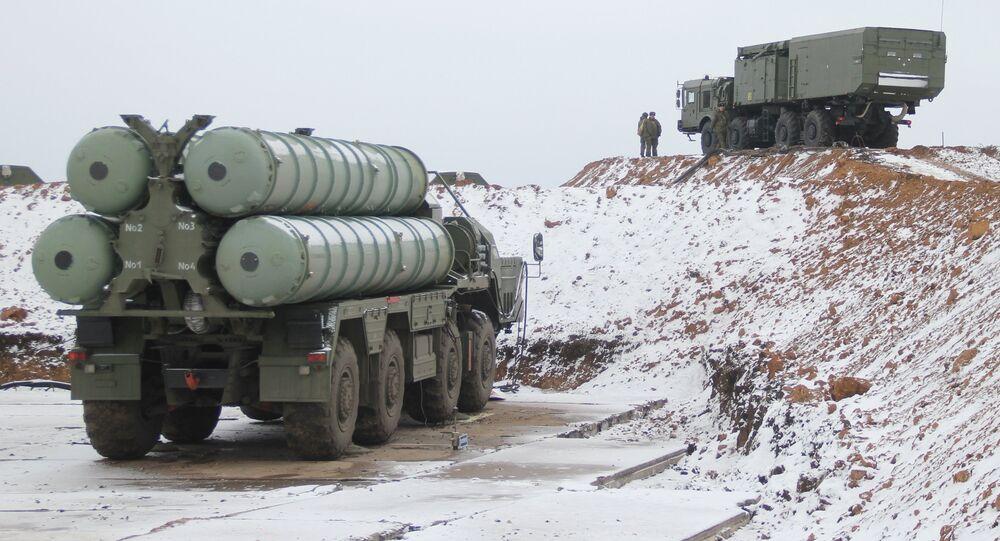 Sistemas de defensa antiaérea S-400