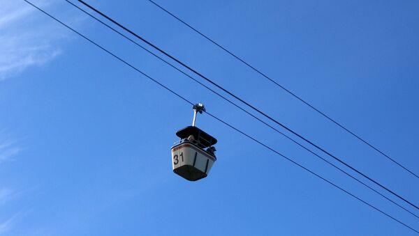 Una góndola del teleférico (imagen referencial) - Sputnik Mundo