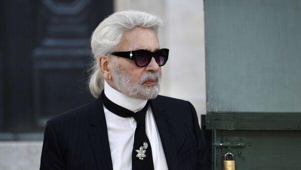 Karl Lagerfeld, el diseñador - Sputnik Mundo
