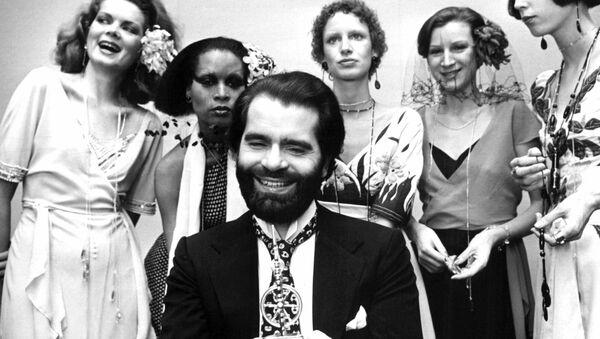 Muere Karl Lagerfeld: la vida del 'Káiser de la moda', en imágenes - Sputnik Mundo