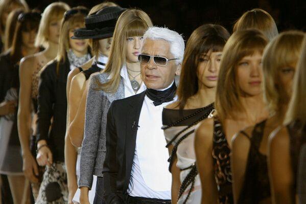 Karl Lagerfeld, diseñador de moda - Sputnik Mundo