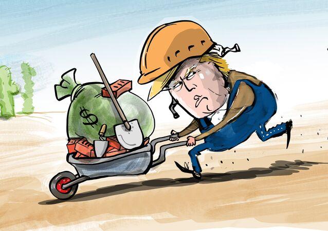 Al final no será México el que pague por el muro de Trump