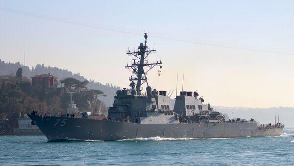 El destructor estadounidense USS Donald Cook - Sputnik Mundo