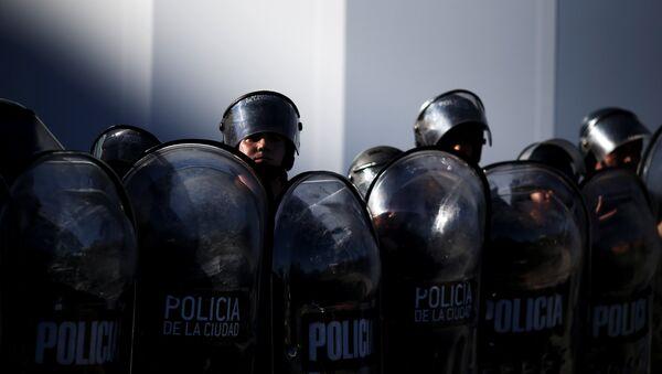 La Policía argentina - Sputnik Mundo